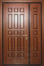двух створчатые железные двери в подольске