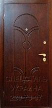 металлические двери мдф с натуральным шпоном